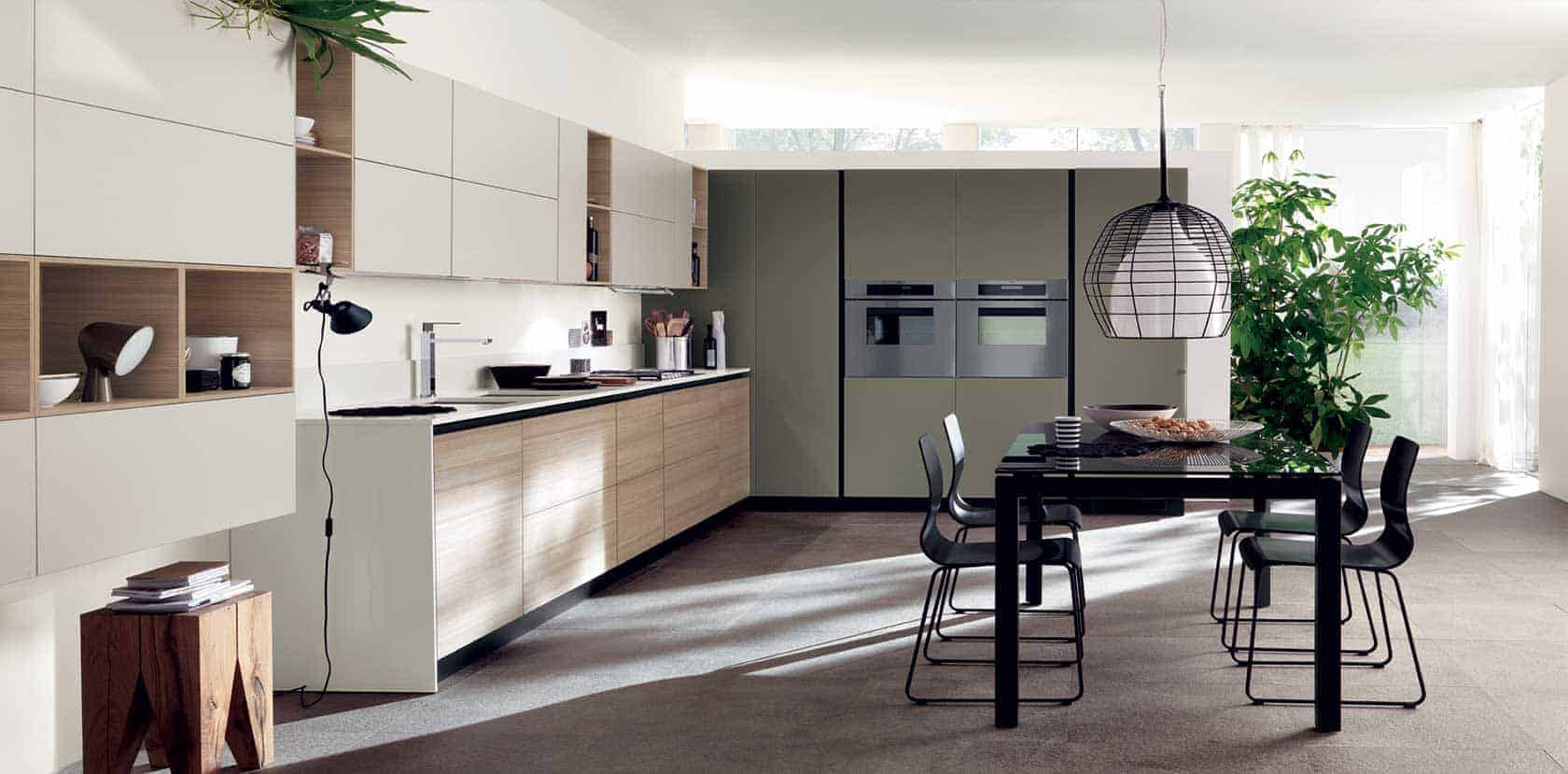 Contemporary kitchens melbourne kitchen mart kitchen for Modern kitchen design australia